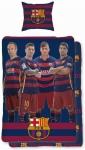 Pościel FC Barcelona 160x200 bawełna wzór F